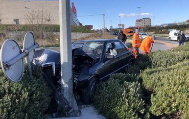Prometna nesreća u Splitu (Foto: Ivo Cagalj/PIXSELL)