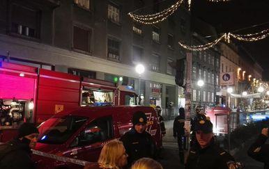 Požar na trafostanici u Varšavskoj (Dnevnik.hr)