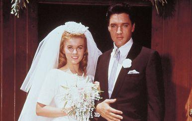 Ann-Margaret i Elvis na snimanju filma