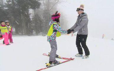 Škola skijanja na Sljemenu (Foto: Dnevnik.hr)