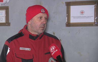 Vlado Brkljačić, ravnatelj Gradskog društva Crvenog križa Gospić (Foto: Dnevnik.hr)