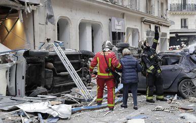 Eksplozija u Parizu (Foto: AFP) - 3