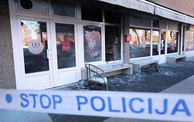 Požar i eksplozija u kvartovskom kafiću (Foto: Goran Stanzl/Pixsell)