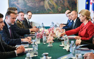 Sjednica Vijeća za obranu (Foto: Sandra Simunovic/PIXSELL)
