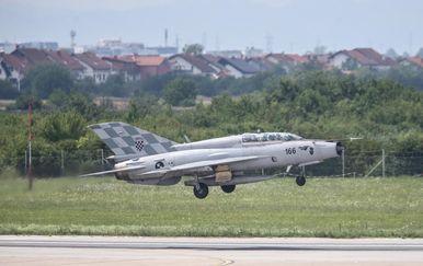 MiG Hrvatskog ratnog zrakoplovstva (Foto: Igor Soban/PIXSELL)