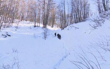 Ekipa Nove TV probila se do jame na Sjevernom Velebitu u kojoj je 3500 godina star led (Foto: Dnevnik.hr) - 2
