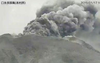 Eruptirao je vulkan na jugu Japana (Foto: AFP)