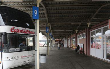 Autobusni kolodvor u Vukovaru (Foto: Pixsell, Marko Mrkonjić)