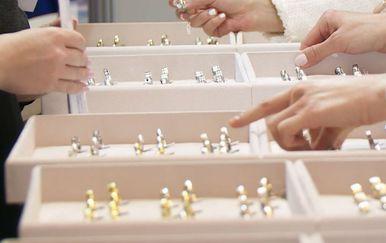Ponuda prstena za Sajam vjenčanja (Foto: Dnevnik.hr)