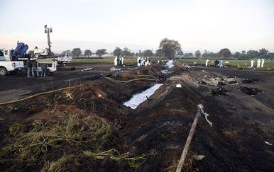 Eksplozija naftovoda (Foto: ALFREDO ESTRELLA / AFP)