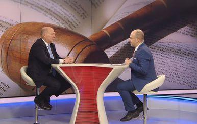 Miroslav Šeparović, predsjednik Ustavnog suda, i Mislav Bago (Foto: Dnevnik.hr)