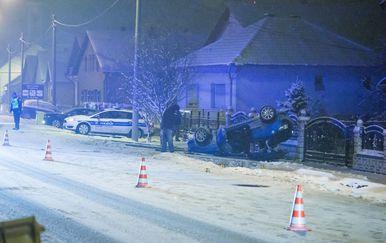 U prometnoj nesreći u Bilju smrtno stradao putnik u automobilu (Foto: Davor Javorovic/PIXSELL) - 1