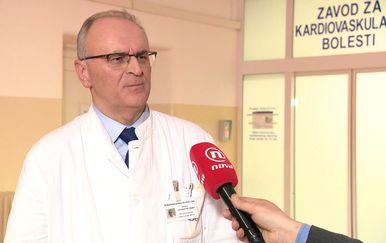 prof. dr. sc. Luka Zaputović, predsjednik Stučnog vijeća KBC Rijeka (Foto: Dnevnik.hr)