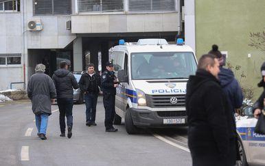 Incident u bolnici Jordanovac (Foto: Matija Habljak/PIXSELL) - 2