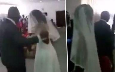 Vjenčanje (Foto: Screenshot/Twitter)