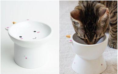 Posudica za mačke inspirirana jednorozima
