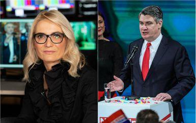 Gabrijela Kišiček i Zoran Milanović