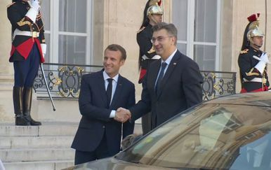 Andrej Plenković u Parizu - 4