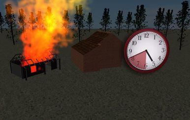 Rekonstrukcija požara u Andraševcu - 1