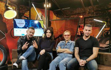 Vanna, Mia Dimšić, Damir Kedžo i Ivan Dečak