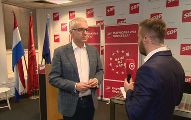 Potpredsjednik SDP-a Ranko Ostojić i Vjekoslav Đaić