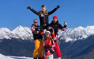 Barbara Štrbac 1. na Svjetskom prvenstvu novinara skijaša - 2