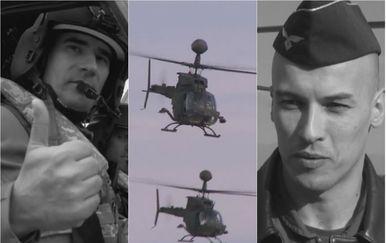Poginuli piloti Marin Klarin i Tomislav Baturina
