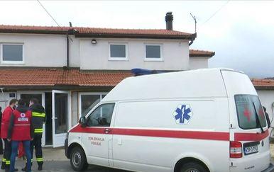 Hitna pomoć u Tribistovu, BiH