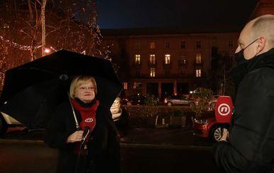 Anka Mrak Taritaš, bivša ministrica graditeljstva, i Mislav Bago