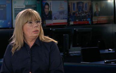 Ivana Petrović u studiju Dnevnika Nove TV - 2