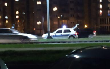 Lančani sudar na Zagrebačkoj aveniji - 1