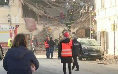 Posljedice potresa u Banovini - 2