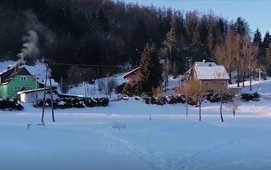 Selo tijekom vala zahlađenja