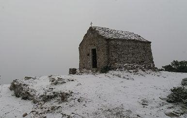 Snijeg na Visu