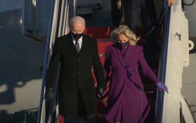 Joe Biden sletio u Washington