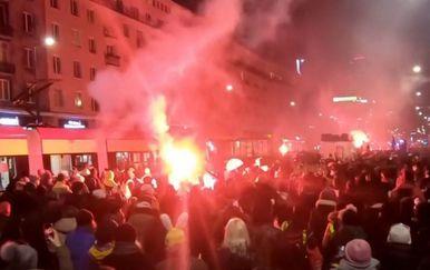 Prosvjed u Poljskoj zbog zabrane pobačaja - 1