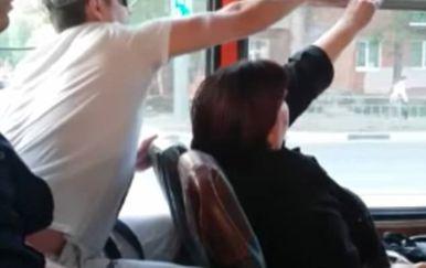 Obračun u autobusu (Foto: Screenshot/Facebook)