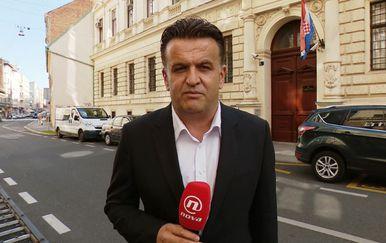 Andrija Jarak ispred Trgovačkog suda (Foto: Dnevnik.hr)