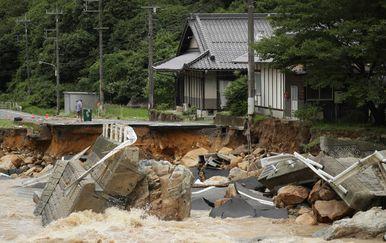 Poplave u Japanu (Foto: AFP)