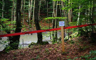Sanacija vrtače na Plitvicama (Foto: Romeo Ibrišević)