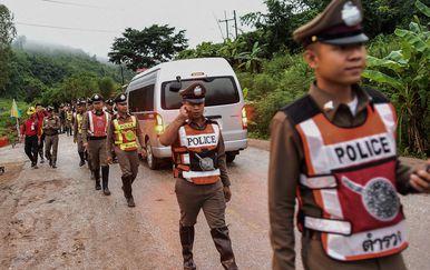 Akcija spašavanja dječaka na Tajlandu (Foto: AFP)