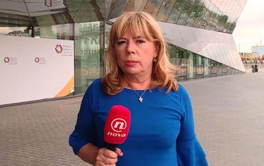 Ivana Petrović uživo iz Londona (Foto: Dnevnik.hr)