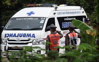 Spašavanje dječaka na Tajlandu (Foto: AFP)