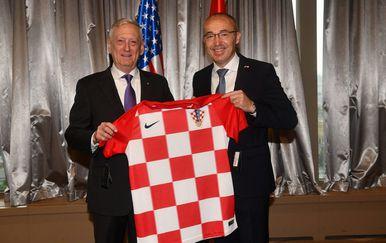 James Mattis i Damir Krstičević (Foto: MORH)