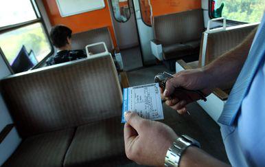Karta za vlak (Foto: Sanjin Strukic/PIXSELL)