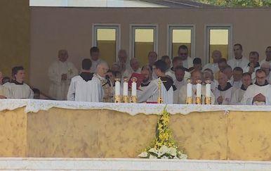 Monsinjor Henryk Hoser u Međugorju vodio misu (Foto: Dnevnik.hr) - 1