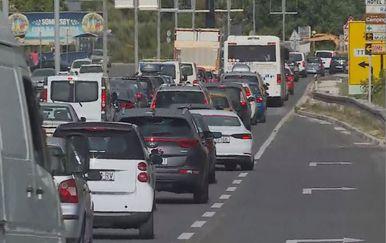 Gužve na cestama (Foto: Dnevnik.hr)