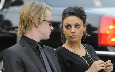Mila Kunis i Maculay Culkin (Foto: Getty Images)
