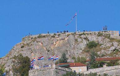 Slavlje na Kninskoj tvrđavi i trgu (Foto: Dnevnik.hr) - 4
