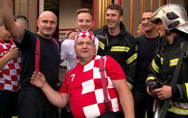 Vatreni u gostima kod vatrogasaca (Foto: Dnevnik.hr) - 1